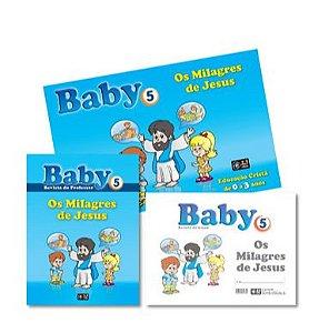 OS MILAGRES DE JESUS KIT BABY VOL 5 Z3