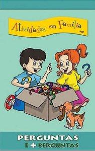 PERGUNTAS E + PERGUNTAS CULTO INFANTIL ALUNO ATIVIDADES EM FAMÍLIA VOL 16 ECE