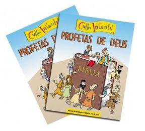 PROFETAS DE DEUS KIT PROFESSOR CULTO INFANTIL VOL 15 ECE
