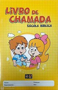 LIVRO DE CHAMADA ESCOLA BÍBLICA INFANTIL Z3