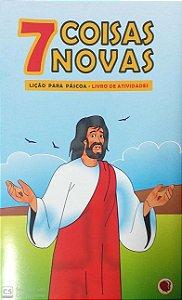 7 COISAS NOVAS LIÇÃO PARA PÁSCOA LIVRINHO APEC
