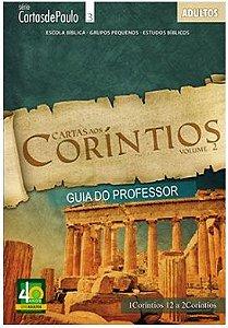 CARTAS AOS CORÍNTIOS PROFESSOR VOL 2 ADULTOS ECE