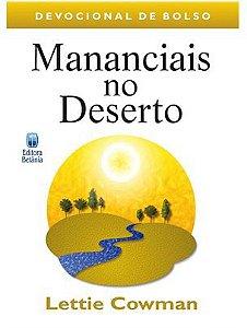 MANANCIAIS NO DESERTO DEVOCIONAL DE BOLSO
