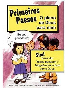 PRIMEIROS PASSOS FOLHETO