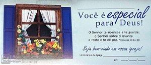 O SENHOR TE ABENÇOE E TE GUARDE CARTÃO DE VISITANTE Z3