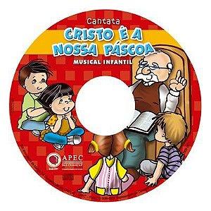 CRISTO É A NOSSA PÁSCOA CANTATA PLAYBACK DIÁLOGOS PARTITURA MUSICAL INFANTIL APEC
