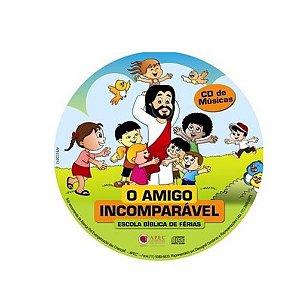O AMIGO INCOMPARÁVEL EBF LIVRO DE MÚSICAS CD + PARTITURAS APEC