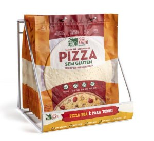 Massa de Pizza Sem Glúten Grande Rigani
