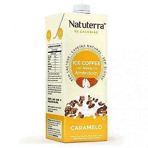 Bebida de Amêndoas Ice Coffee Caramelo - 1L