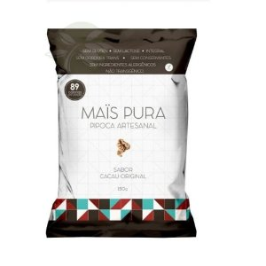 Pipoca Mais Pura Cacau Original 150g