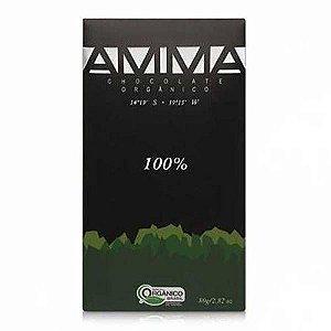 Chocolate 100% Orgânico Amma 80g