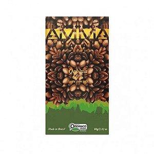 Chocolate Qah'wa 60% Café Orgânico Amma 80g