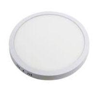 Luminária Plafon 36w LED Sobrepor Redondo Branco Quente 3000K