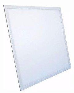 Luminária Plafon 45w LED Embutir Quadrado Branco Quente 3000K