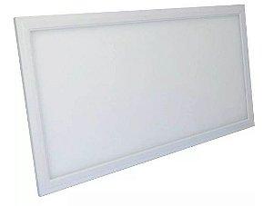 Luminária Plafon 24w LED Embutir Retangular Branco Frio 6000K
