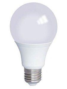 Lâmpada Led Bulbo 09w E27 Bivolt Branco Quente