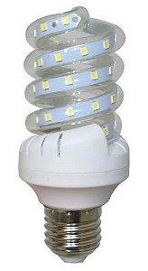 Lâmpada LED Espiral 7w Branca Fria