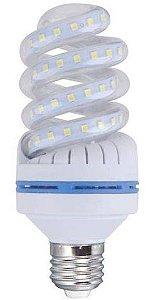 Lâmpada LED Espiral 9w Branca Fria