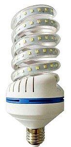 Lâmpada LED Espiral 36w Branca Fria