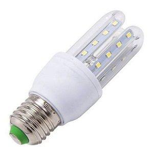 Lampada LED 3U (milho) de 05w E27 Branco Frio