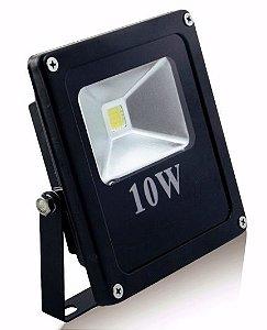 Refletor Holofote LED 10w Branco Quente