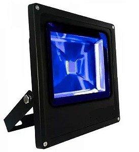 Refletor Holofote LED 20w Azul