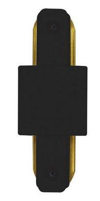 Conector Emenda - Tipo Reta - Para Trilho Eletrificado LED - Cor Preta