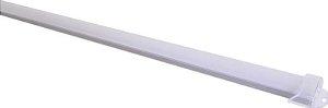 Calha com Lente Leitosa para Barra de LED - 1 Metro