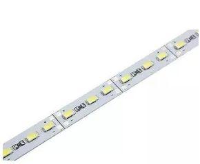 Barra de LED - 1 Metro - 18w - Branco Frio - 12v - 72 LEDs