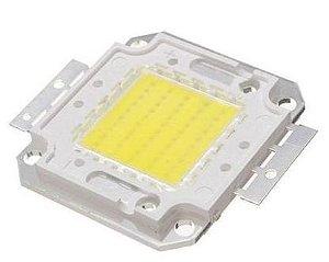 Chip LED - 50w - Para Reparo de Refletor - Branco Frio