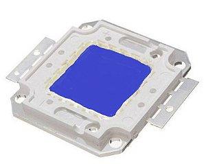 Chip LED - 50w - Para Reparo de Refletor - Azul