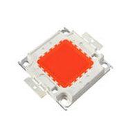 Chip LED - 50w - Para Reparo de Refletor - Vermelho