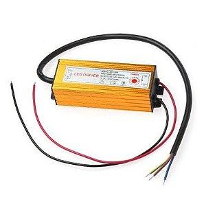 Driver Reator - 10w - 300mA - Para Reparo de Refletor LED - Bivolt