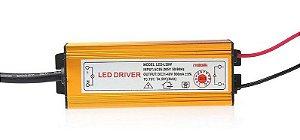 Driver Reator - 30w - 900mA - Para Reparo de Refletor LED - Bivolt
