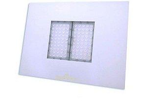 Luminária 100w para posto de combustível  6000k  Branco frio