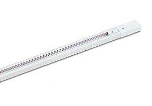 Trilho Eletrificado para Spot LED 1,5  metro Bivolt Branco