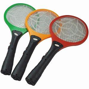 Raquete Elétrica Mata Moscas - Mosquito - Pernilongo - Bivolt - Recarregável