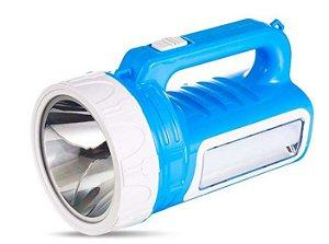 Lanterna Recarregável  DP-7306  1 LED + tubo led lateral