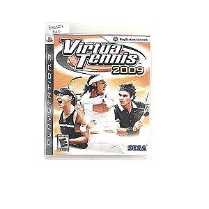 Jogo Virtua Tennis 2009 para PS3