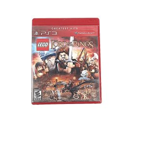 Jogo Lego The Lord of The Rings para PS3