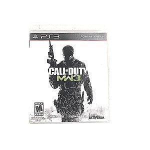 Jogo Call of Duty MW3 para PS3
