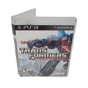 Jogo Ps3 Transformers: War for Cybertron