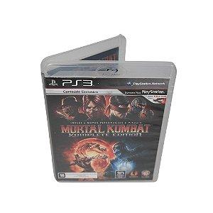 Jogo Ps3 Mortal Kombat (Komplete Edition)