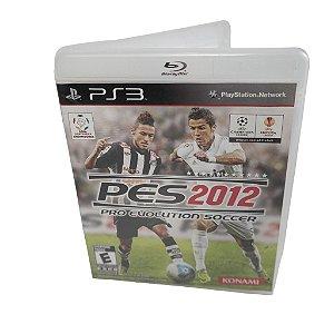 Jogo Ps3 Pro Evolution Soccer 2012 (PES 12)