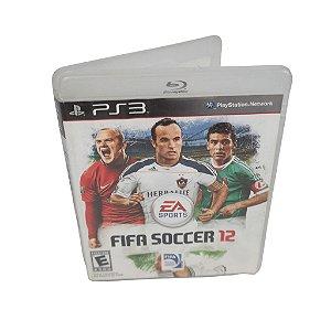 Jogo Ps3 FIFA 12