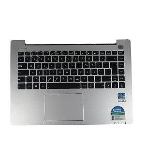 Carcaca Teclado e Mouse Notebook Asus S400c