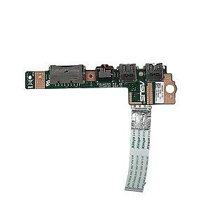 Placa Audio USB SD Notebook Asus S400c