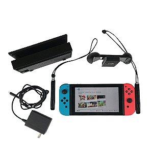 Nintendo Switch 32GB Cor Vermelho-Néon, Azul-Néon e Preto