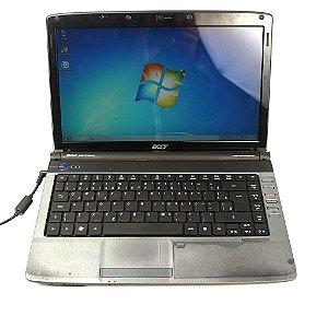 Notebook Acer Dual Core Memória Ram 3gb HDMI DVD Usado