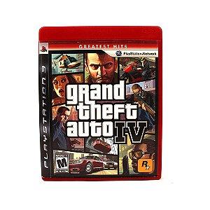 Jogo PS3 GTA IV (Seminovo)